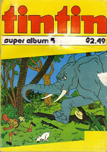 Super Album Tintin N° 5 du