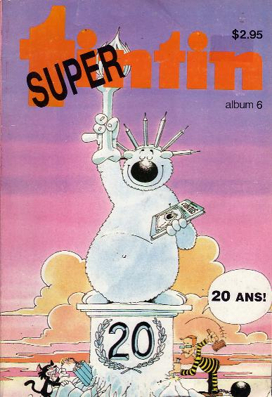 Super Album Tintin N° 6 du
