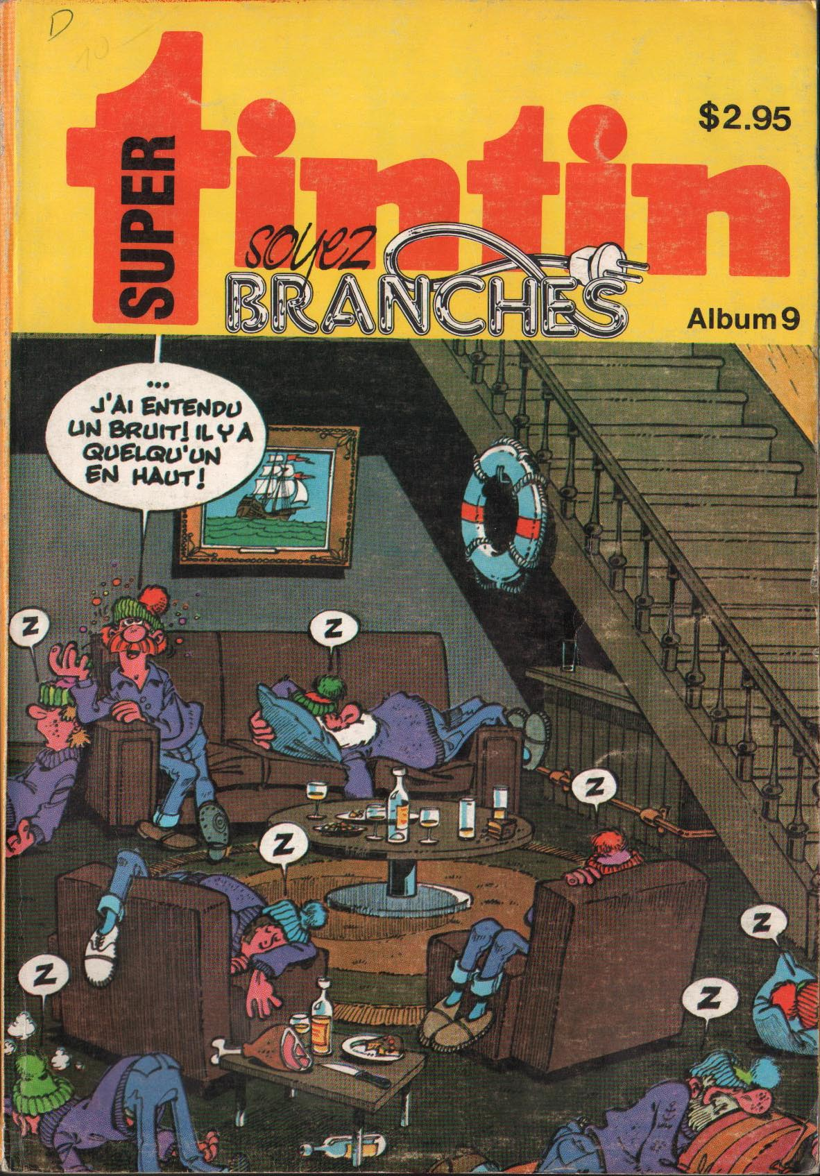 Super Album Tintin N° 9 du